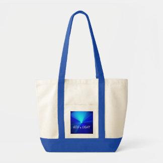 GOD is LIGHT Impulse Tote Bag