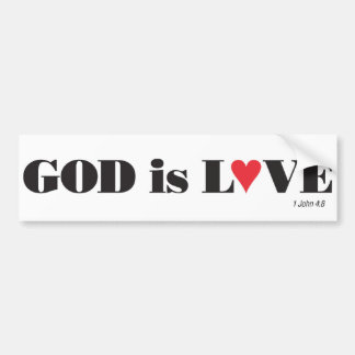God is Love Bumper Sticker
