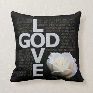 God is Love Cushion