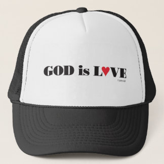 """""""God is love"""" hat"""