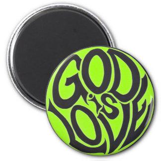 God is Love Magnet