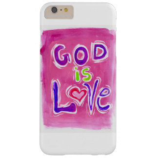 God is Love pink 1 phone case