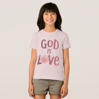 God is Love – Spiritual and Religious - Kids Shirt