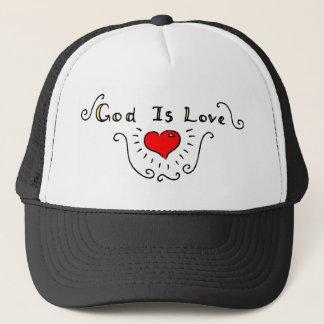 God Is Love Trucker Hat