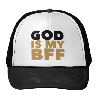 God Is My BFF Cap