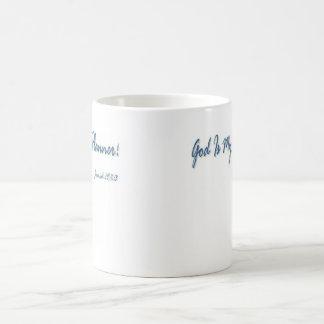God Is My Life Planner! Basic White Mug