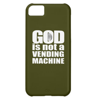 GOD is not a VENDING MACHINE iPhone 5C Cover