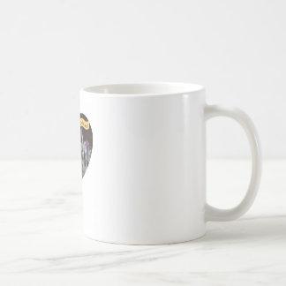 god is real basic white mug