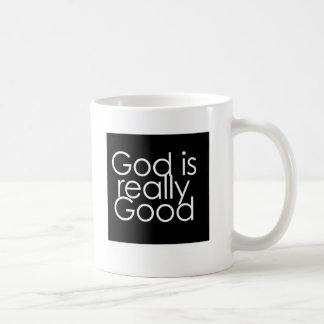 God is really Good Basic White Mug
