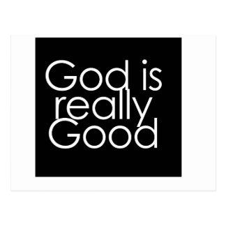 God is really Good Postcard