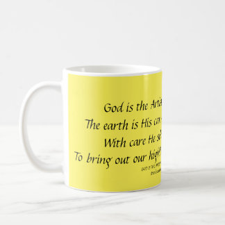GOD IS THE ARTIST Verse 1 Mug Stephanie Hutchinson