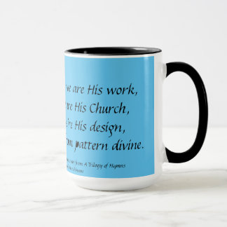 GOD IS THE POET Verse 2 Mug Stephanie Hutchinson