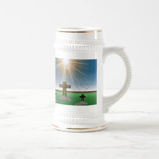 God Is With Me stein mug