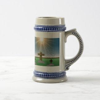 God Is With Me stein mug 2