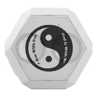 God Is With Me White Bluetooth Speaker