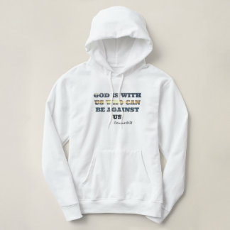 God is with us hoodie