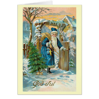 """God Jul"" Card"