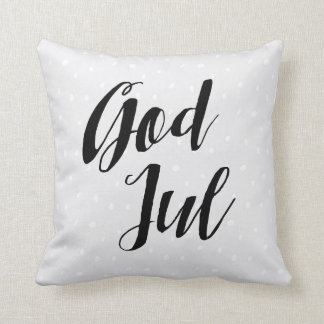 God Jul | Scandinavian Christmas Cushion