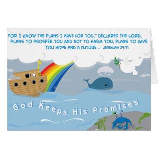 God Keeps His Promises Card