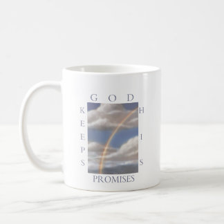 God Keeps His Promises Rainbow  Mug