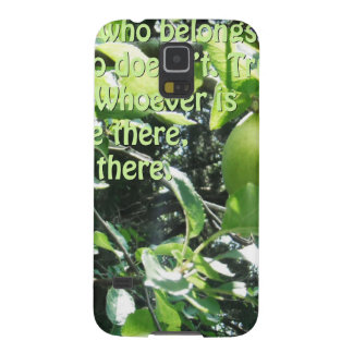 god knows who belongs in your life galaxy s5 cases