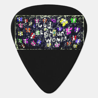 god light of would guitar pick