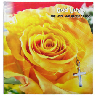 God Love Peace Napkin