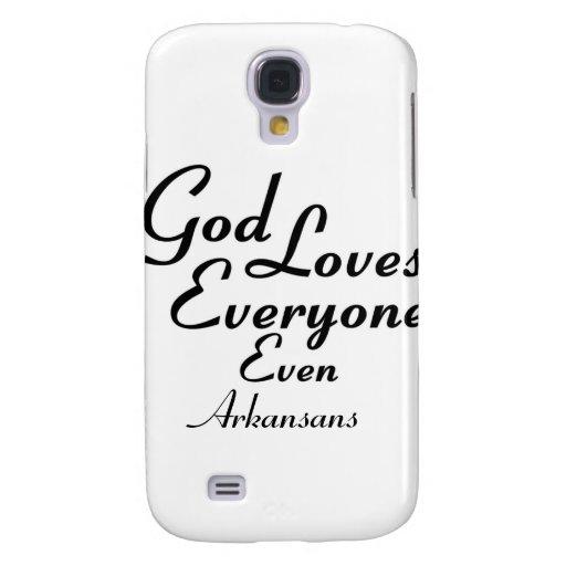 God Loves Arkansans Samsung Galaxy S4 Covers
