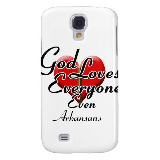 God Loves Arkansans Galaxy S4 Covers