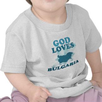 God Loves Bulgaria T-shirt