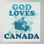 God Loves Canada Poster