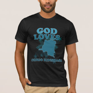 God Loves Congo Kinshasa T-Shirt