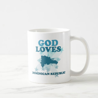 God Loves Dominican Republic Coffee Mug