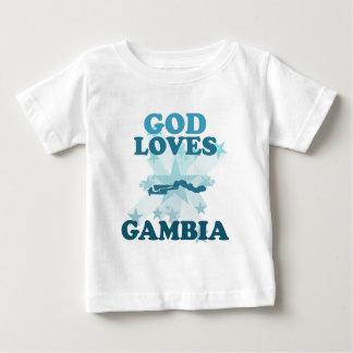 God Loves Gambia Tee Shirt