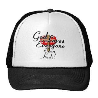 God Loves Kids! Hat