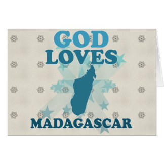 God Loves Madagascar Cards