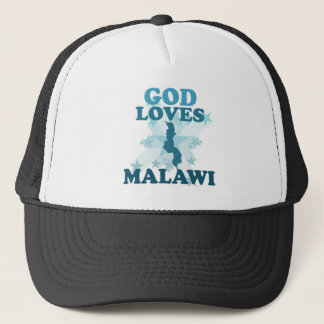 God Loves Malawi Trucker Hat