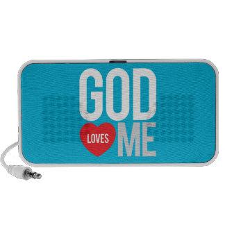 God loves me mini speaker