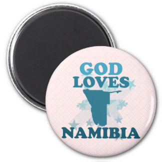 God Loves Namibia Fridge Magnets
