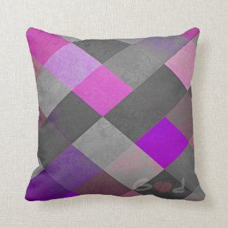 God Loves Purple Cushion