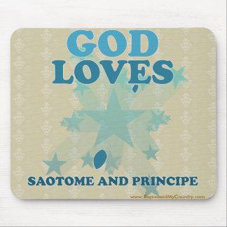 God Loves Saotome And Principe Mouse Pad