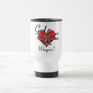 God Loves Wingers! Coffee Mug