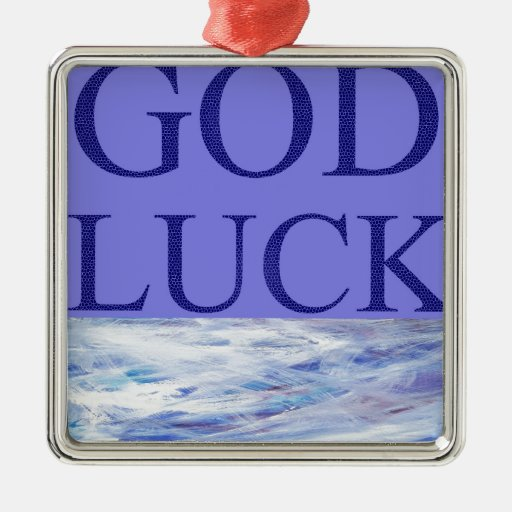 GOD LUCK ORNAMENTS