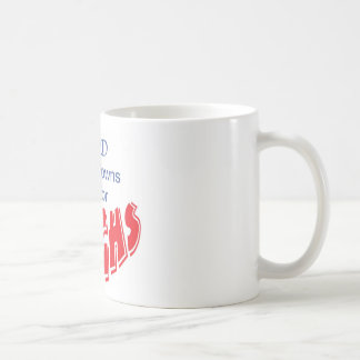 God made clowns just for laughs coffee mug