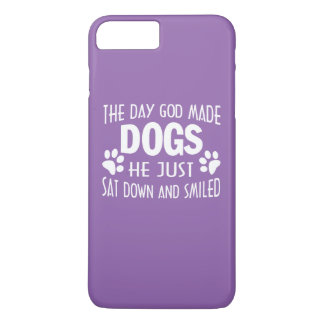 GOD MADE DOGS iPhone 7 PLUS CASE