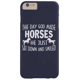 GOD MADE HORSES BARELY THERE iPhone 6 PLUS CASE