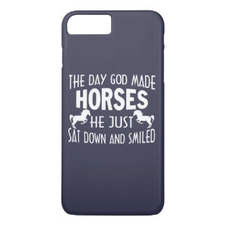 GOD MADE HORSES iPhone 7 PLUS CASE