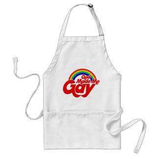 God Made me Gay Rainbow Standard Apron