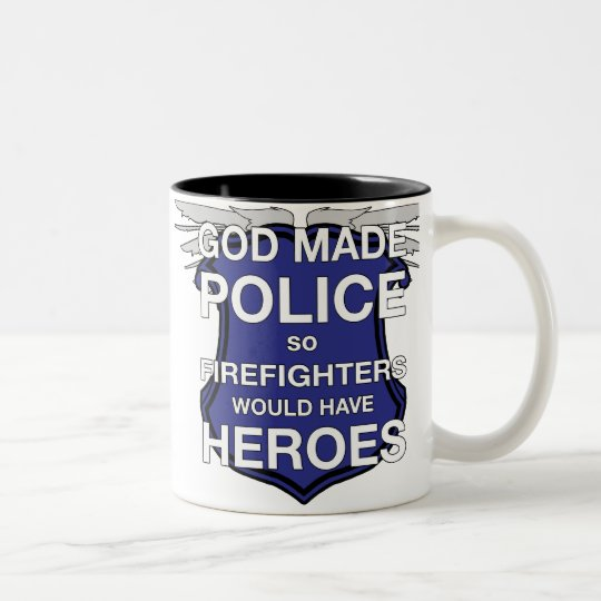 God Made Police Coffee Mug