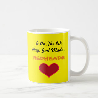 God Made Redheads Coffee Mug